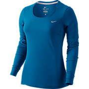 Nike Womens Dri-FIT Contour Long Sleeve Top AW15